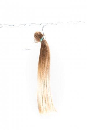 Přírodní světlé odstíny na prodlužování vlasů.