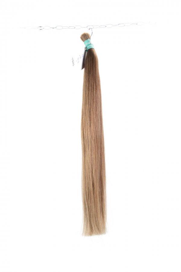 Dlouhé rovné hnědé vlasy k prodlužování