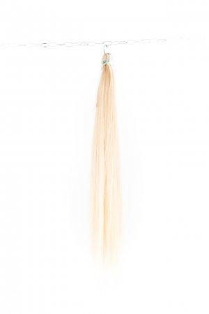 Dlouhé světlé vlasy na prodlužování vlasů