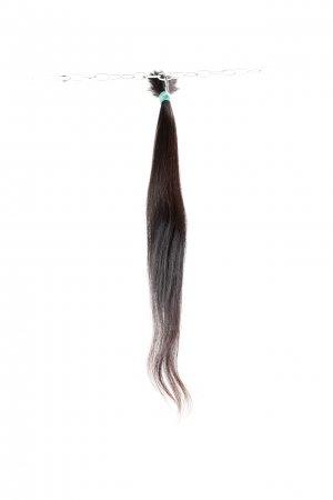 Řecké vlasy v hnědém odstínu k prodlužovaní