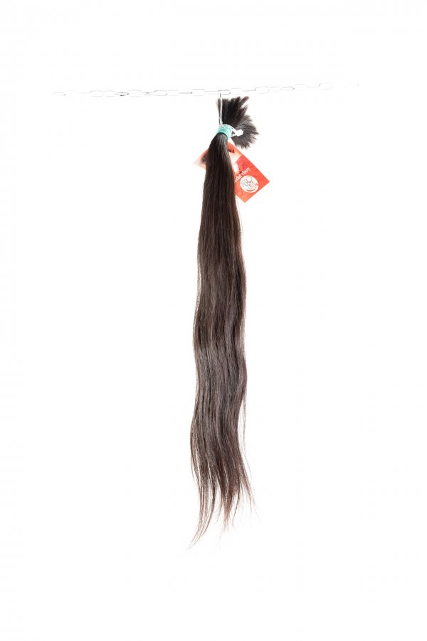 Vlnité přírodní vlasy na prodlužování vlasů