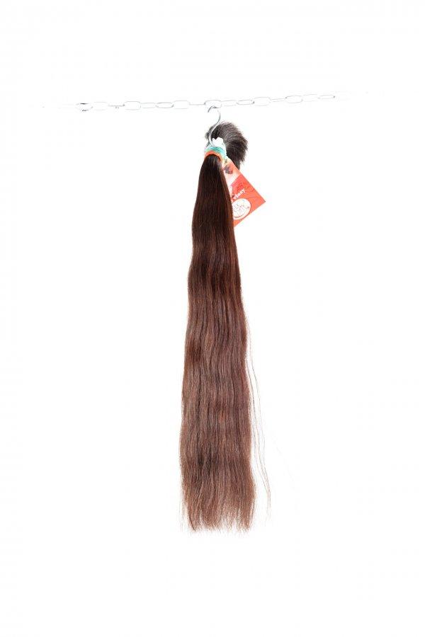 Dlouhé rovné hnědé vlasy pro prodloužení vlasů