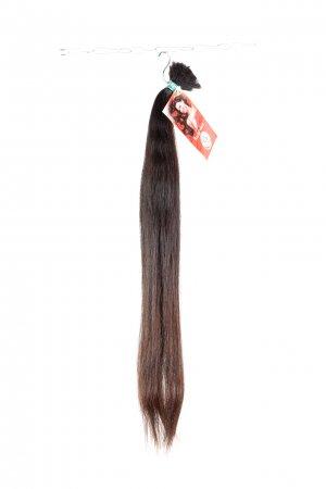 Dlouhé hnědé vlasy na prodlužování vlasů