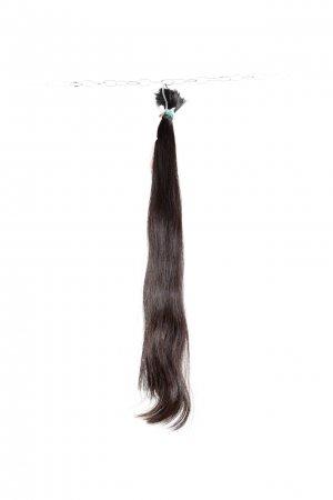 Lehká vlna dlouhých řeckých vlasů na prodlužování
