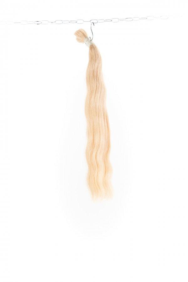 Ruské světlé vlasy k prodloužení.