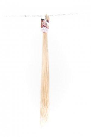 Luxusní ruské blond vlasy k prodloužení.