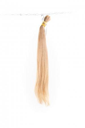 Slovanské světlé vlasy.