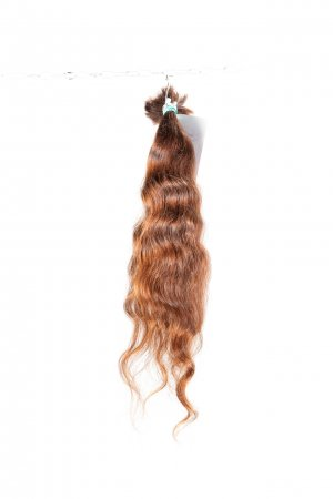 Vlnité izraelské vlasy na prodlužování vlasů.