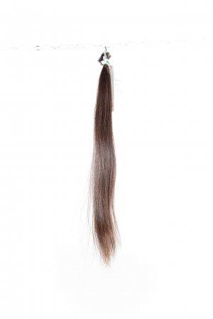 Rovné dlouhé hnědé vlasy na prodlužování.