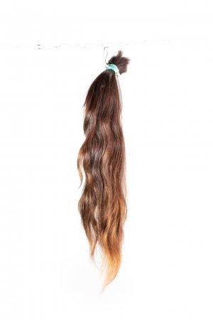 Lehká vlna na prodloužení vlasů.