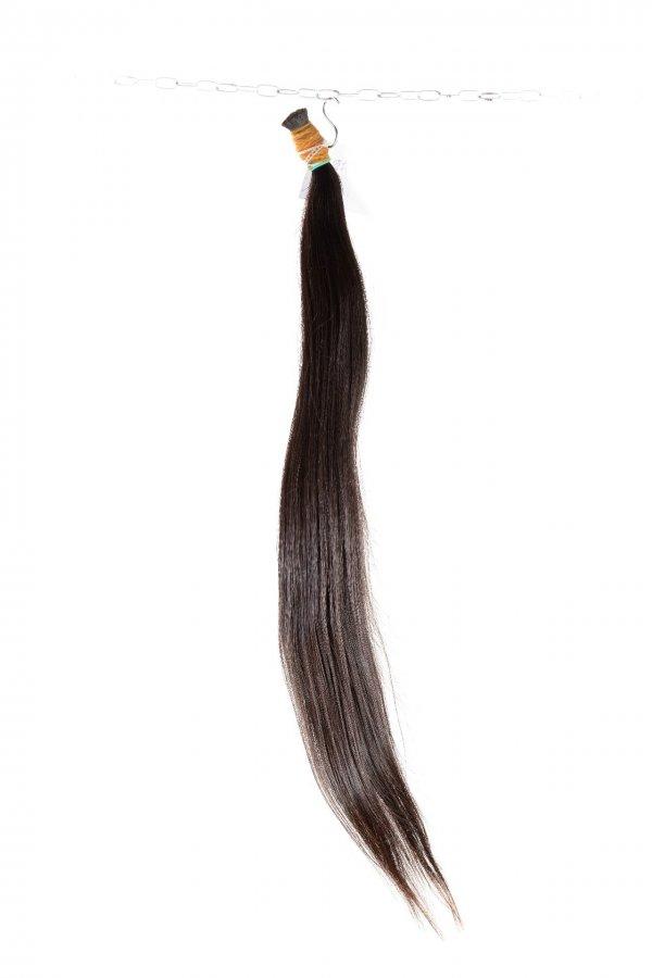 prameny vlasů rovné černé dlouhé