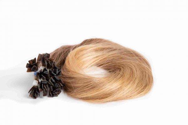 vlasy k prodloužení keratinem