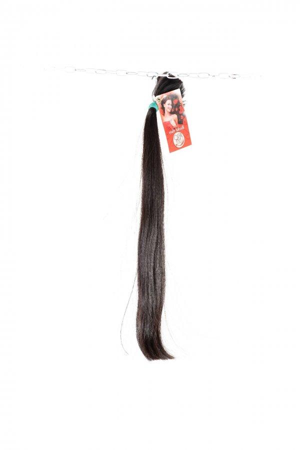 Prodlužování vlasů rovné tmavé