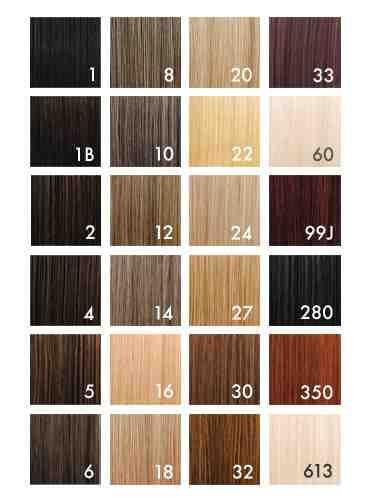 Barevnice vlasů na prodloužení