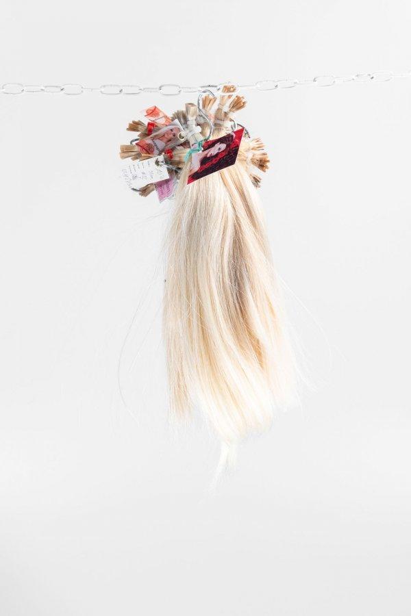 Platinové vlasy k prodloužení