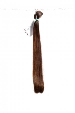Tmavě hnědé rovné vlasy k prodloužení