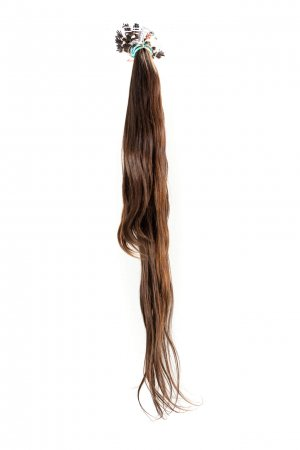 Přírodní hnědé vlasy