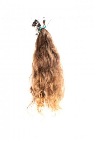 Evropské panenské vlnité vlasy