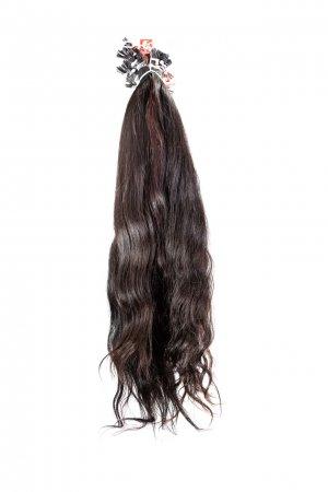 Vlnité prameny k prodloužení vlasů